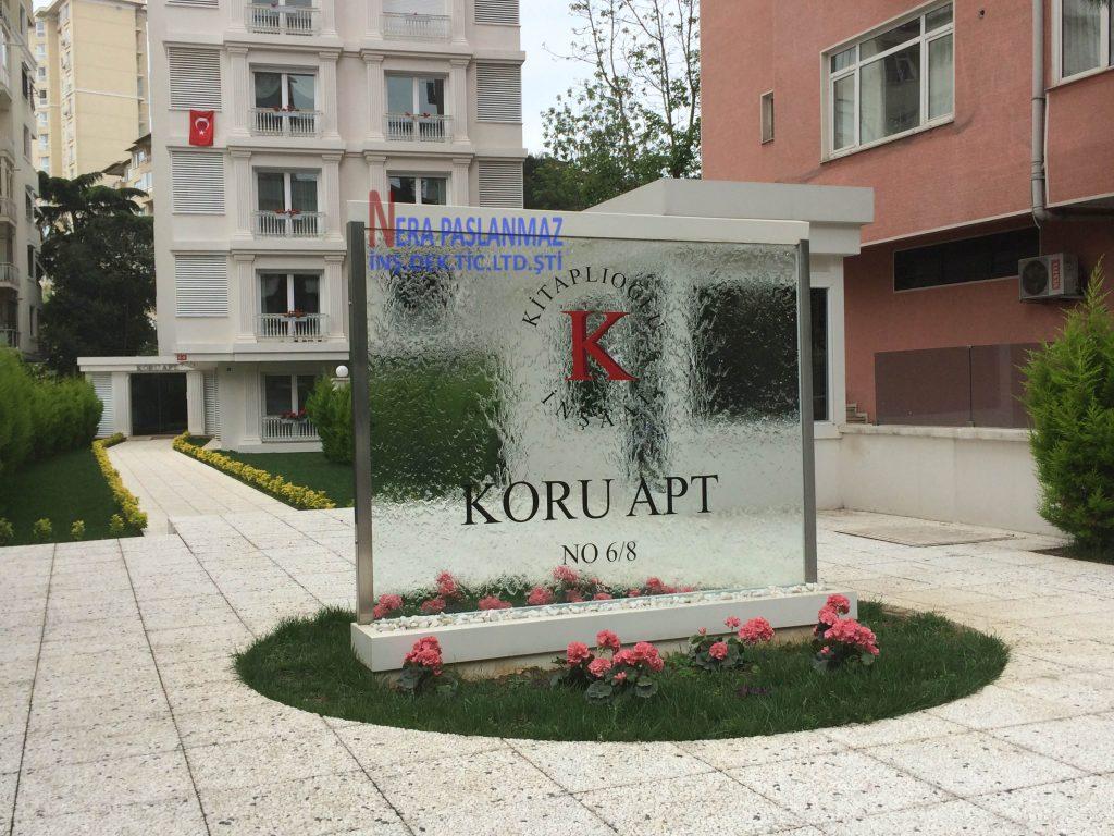 KORU APARTMAN SU PERDESİ